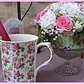 Tea-time printanier