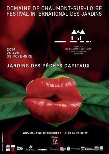 Affiche Festival des jardins de Chaumont