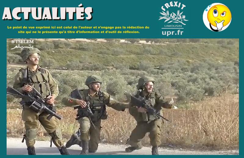 ACT SOLDATS ISRAELIEN TIRS