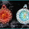 Miraculum de Joëlleperle.... deux....cabochons de Cristals forever...Merci à toi Jackie !