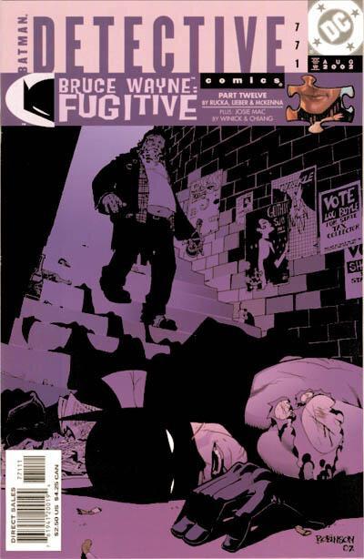 detective comics 0771