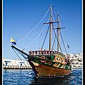 bateau touristes