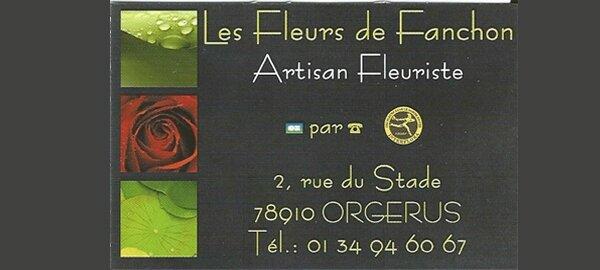 Entreprises partenaires : les Fleurs de Fanchon, fleuriste à Orgerus