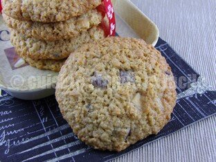 cookies flocons d'avoine 06