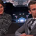 Divergent - bande annonce et interview de shailene woodley et theo james au jimmy kimmel live