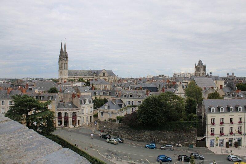 Les toits d'Angers