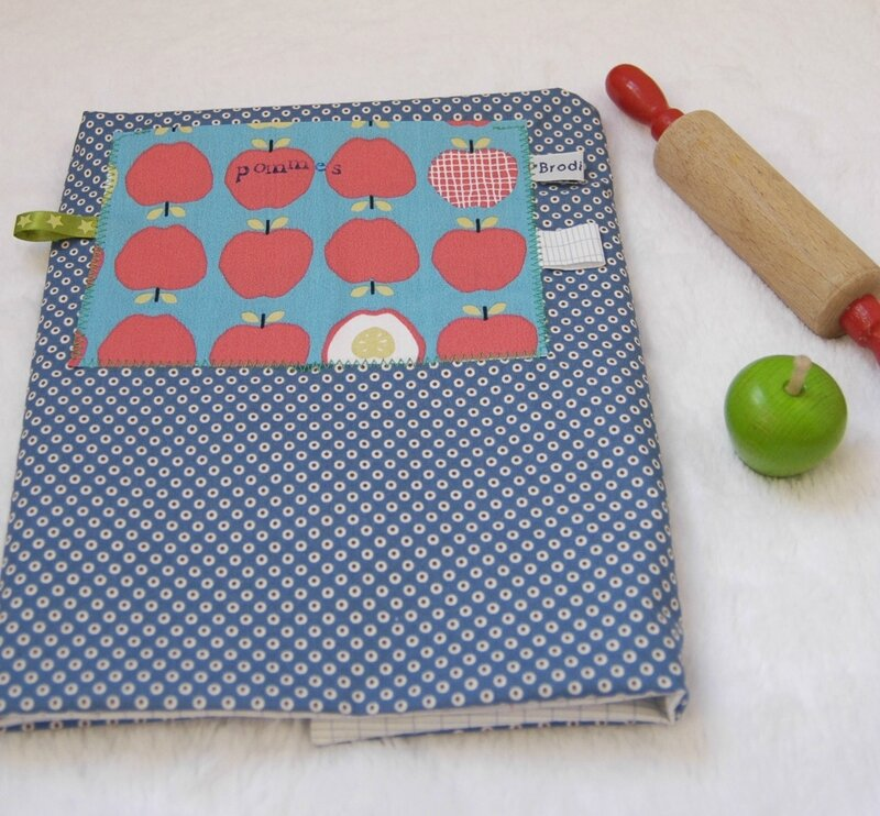 Brodi Broda-tablier de petit chef-personnalisé avec prénom-cadeau enfants personnalisé-4bis