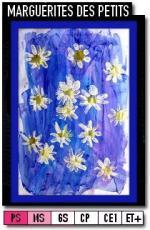 318-Fleurs-Marguerites des petits