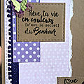 Défi sketch carterie chez little scrap