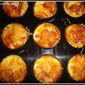 mini quiches lorraines au bacon