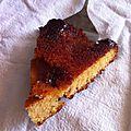 Gâteau moelleux façon tatin