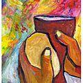 Jean 6, pain et parole, chapitre 7 : questions diverses (satan ; christ...) symboles dans l'eucharistie (pain, sang...)