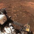 Perseverance - Planète Mars le 4