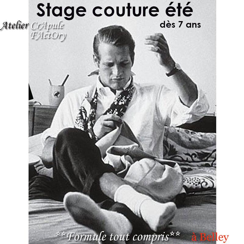 Stage COUTURE VACANCES ETE , cours de couture enfant, Belley 01300, atelier couture, Ain, Bugey sud, loisirs creatif, atlier crapule factory, Stéphanie Erlich-Maujean, formule tout compris, apprendre à coudre, ludique, creation,
