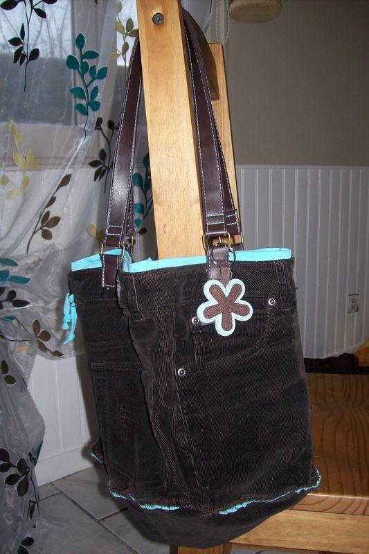 mon premier sac Récup pour moi!