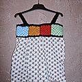 Crochet - couture : robe - tunique granny taille 2-4ans