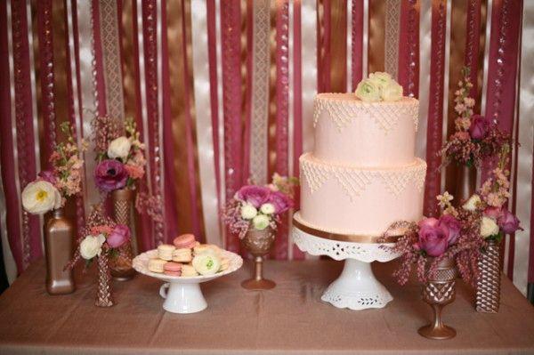 Purple-Gold-Wedding-Dessert-Table-600x399