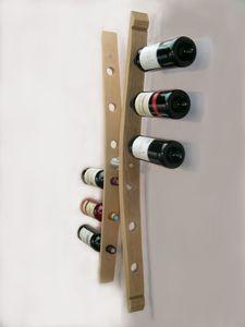 range bouteilles,porte bouteilles, capacité 12 bouteilles, accessoire pour aménagement de cave à vins,barrel's oak desig furniture,ww