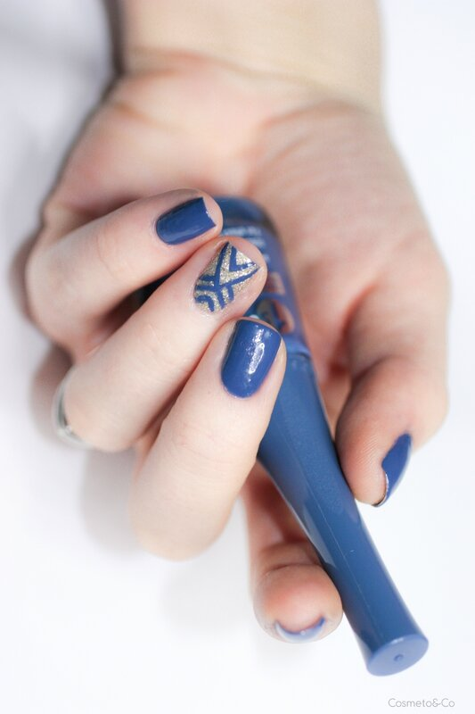 bourjois vernis 1 seconde Blue de Nîme-2