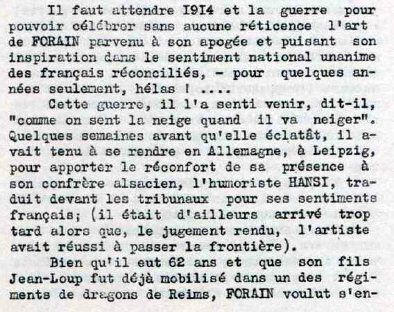 Forain 1914-1
