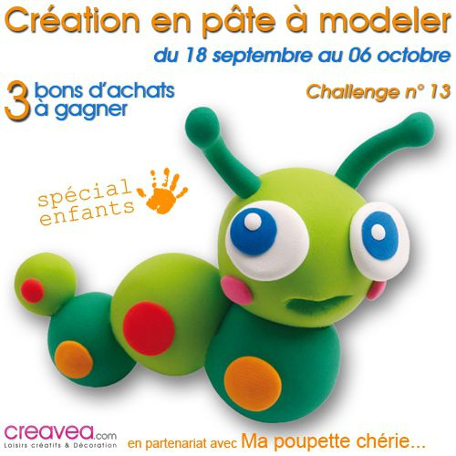 Concours Créatif Pâte à Modeler Avec Creavea Ma Poupette Chérie