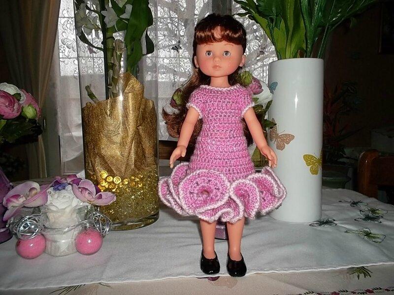 Chloé & sa jolie robe à frou-frou (Odile et Moi) transformée (1)