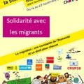 Chartres, 14 au 22 novembre 2015 : semaine de la solidarité internationel.