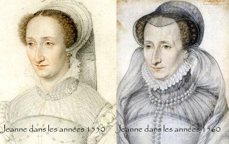 Deux portraits de la reine Jeanne