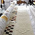 Chaîne Irlandaise - long arm quilting