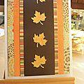 Carte feuilles d'automne