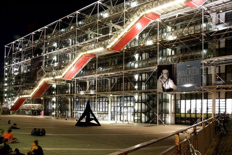 3-Beaubourg by night_1496