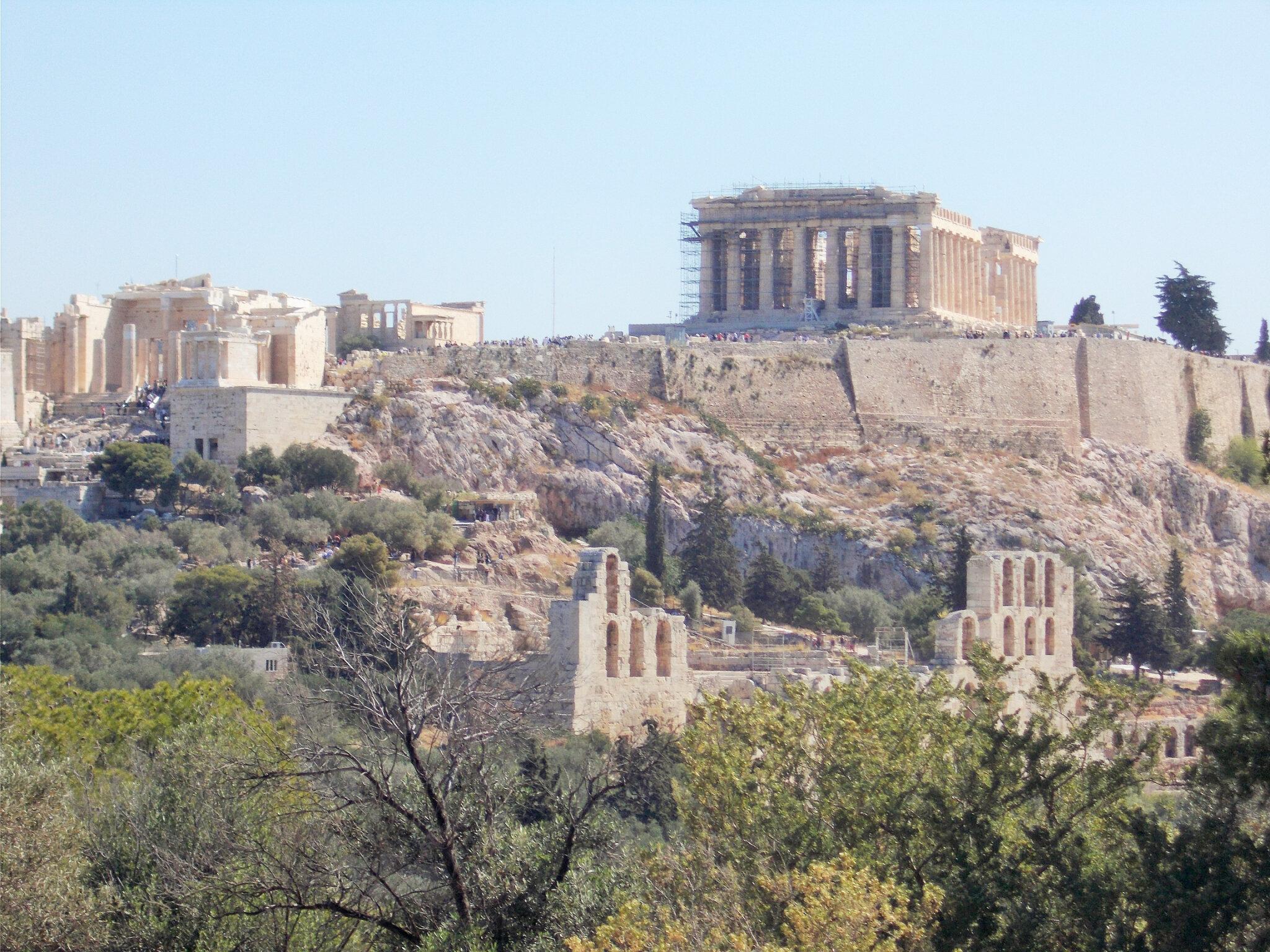 Athènes en travaux
