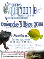Affiche Bourse aquariophile & NAC Montélimar