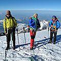 sommet du mont Blanc