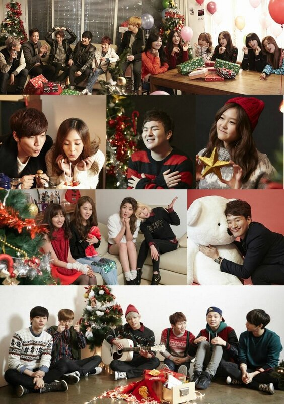 Cube-Artists-Christmas-Song-MV