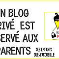 blog privé reservé aux parents