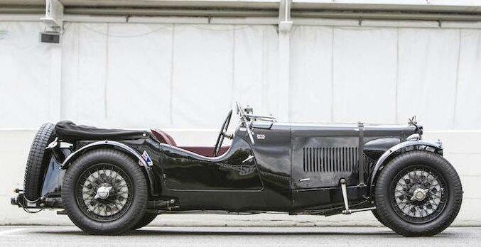 1935 Aston Martin Ulster 2 4 Seater Tourer Alain R Truong