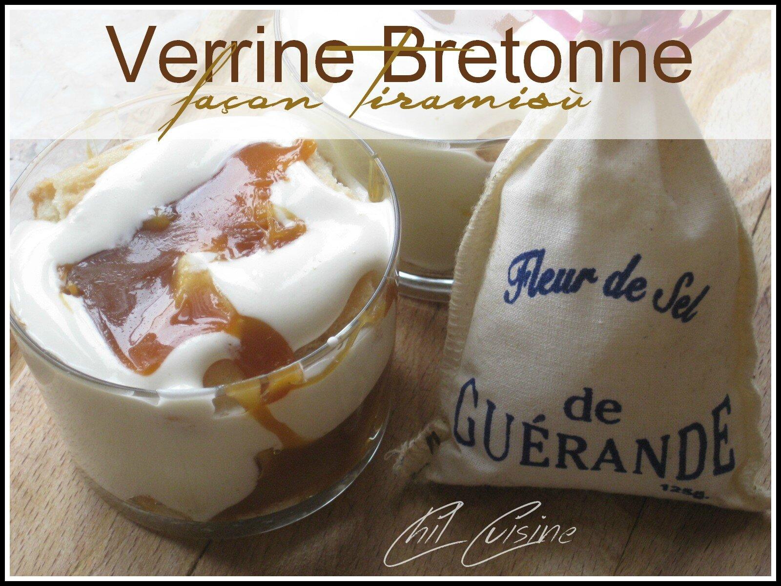 Verrine Bretonne façon Tiramisù..