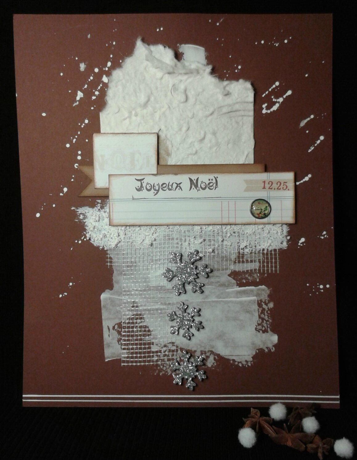 challenge scrapboo-kit 1er dec
