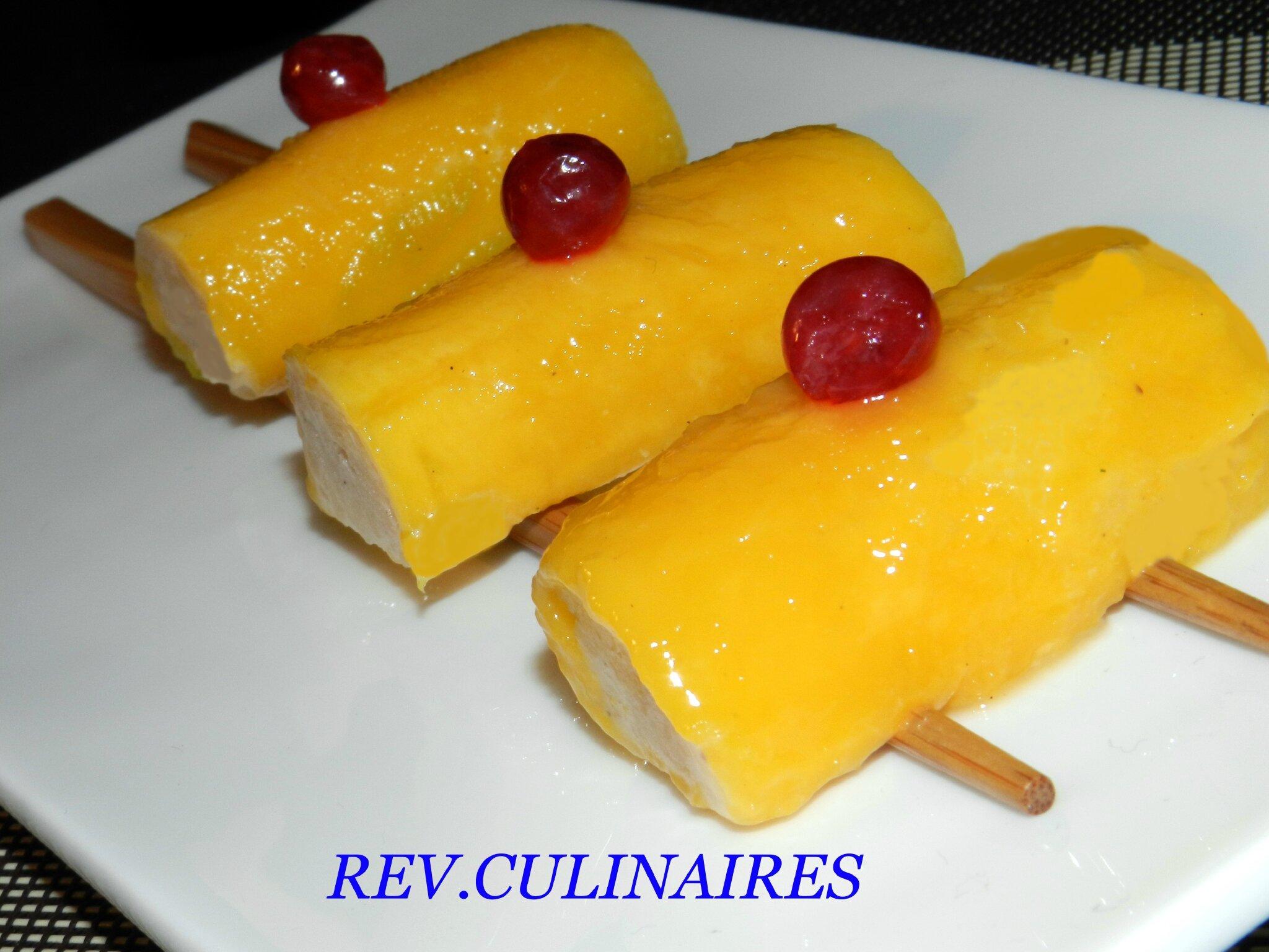 Sushis de mangues