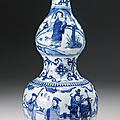 A blue and white double-gourd vase, ming dynasty, jiajing period (1522-1566)