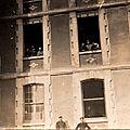 03 Caen, Quartier Claude Decaen, les bâtiments principaux, arrière, 1918