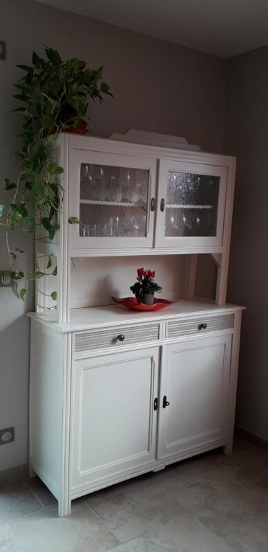 Buffet couleur campagne chic