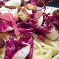 Spaghettis à la trévise