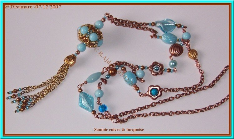 Cuivre Turquoise