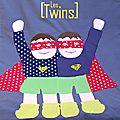 Création de housses de couettes pour les mini super héros !