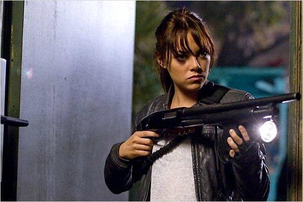 Emma Stone dans Bienvenue à Zombieland