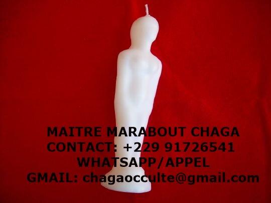 BOUGIE MYSTIQUE DE VŒUX DU MAITRE CHAGA