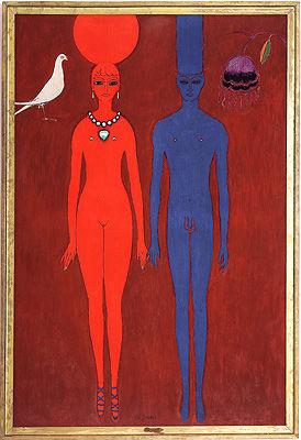 Le_couple_1918_de_Kees_Van_Dongen