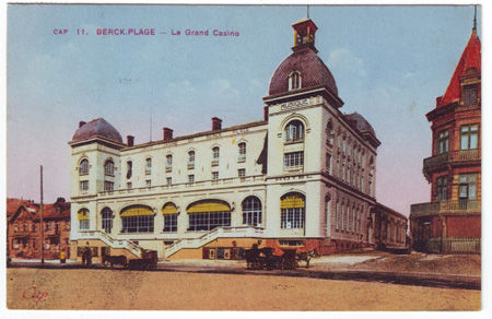 62 - BERCK PLAGE - Le grand casino